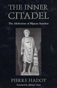 Front cover of the book 'The Inner Citadel' by Pierre Hadot.