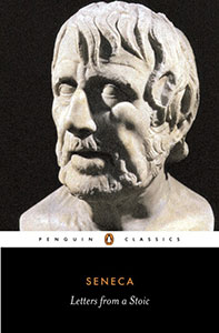Front cover of the book 'Letters from a Stoic' by Seneca.